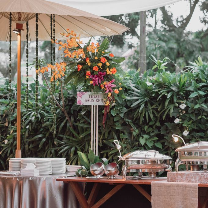 Wedding of Erina & Abi by Minity Catering - 002