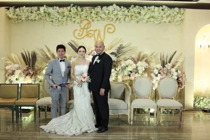 MC Wedding Intimate OnFive Grand Hyatt Jakarta - Anthony Stevven by Anthony Stevven - 019