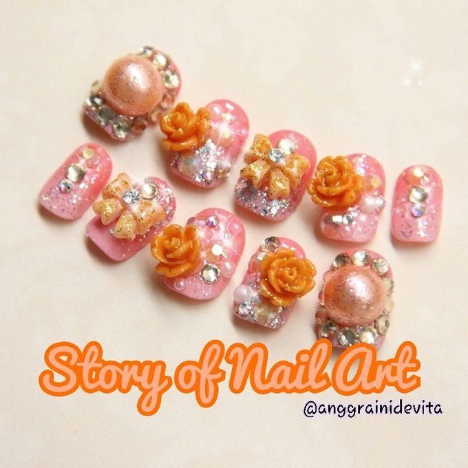 Fake Nails by Story of Nailart - 004