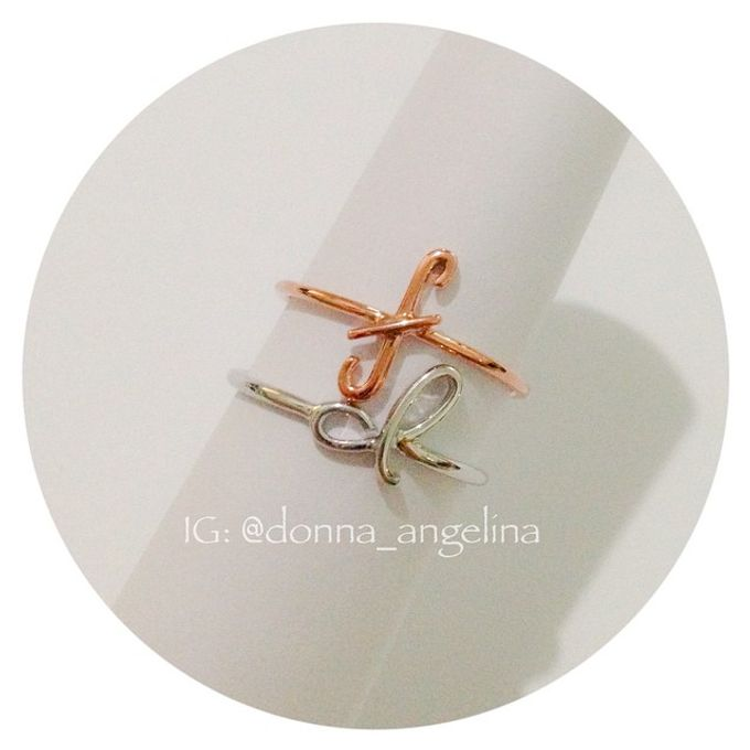 Name & Initial by DA Jewelry - 026