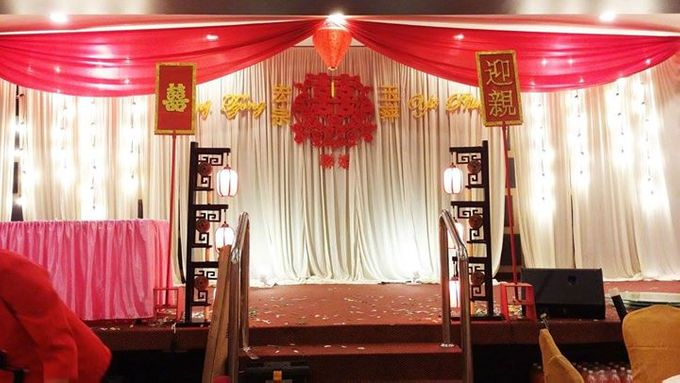 Oriental Wedding Decoration Theme by Wedding And You - 034
