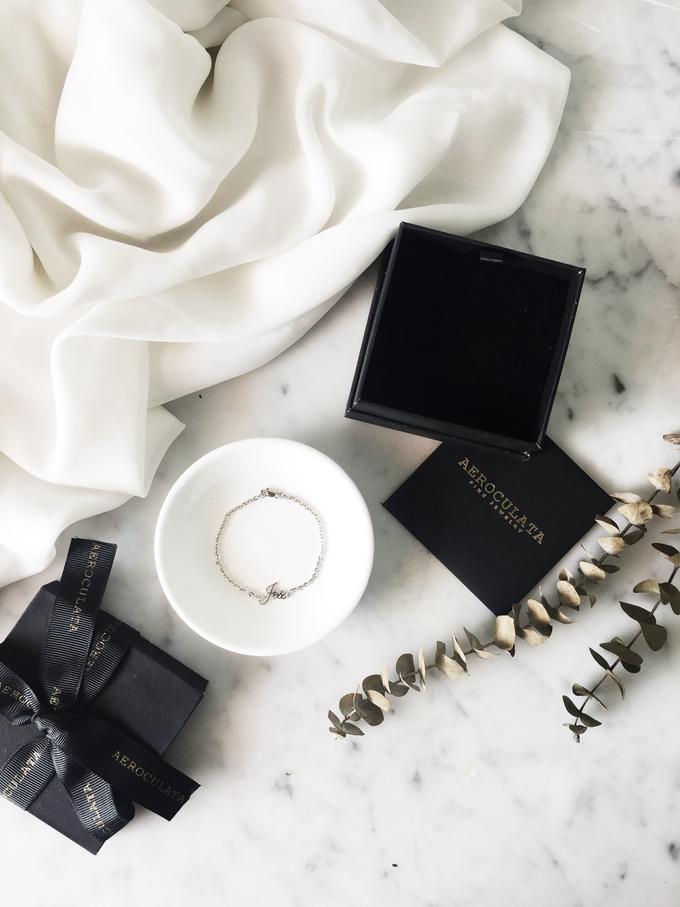 Wilbert 18ct Custom Name Bracelet for his girlfriend by AEROCULATA - 001