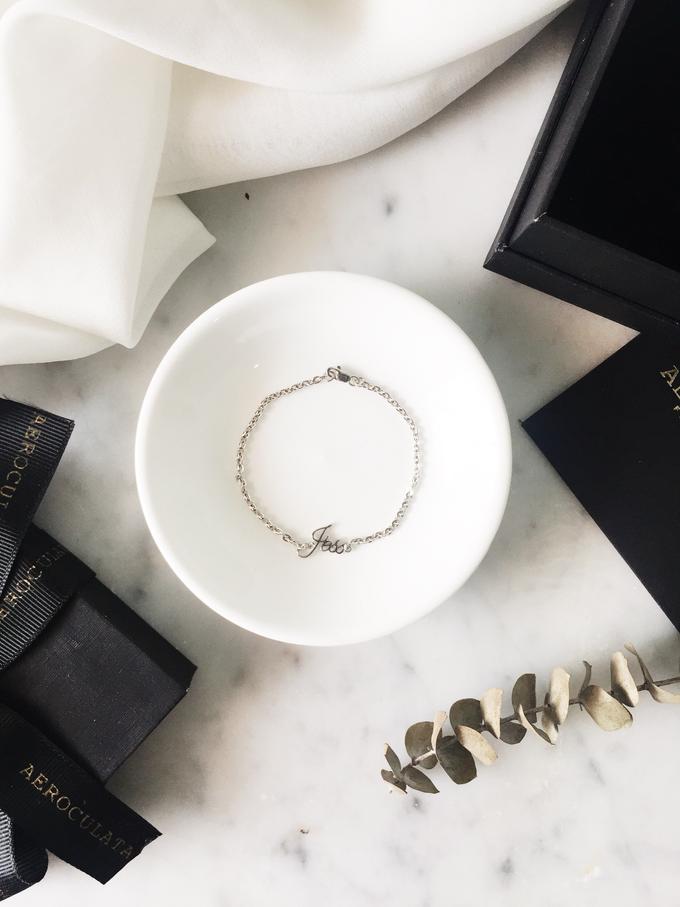 Wilbert 18ct Custom Name Bracelet for his girlfriend by AEROCULATA - 003