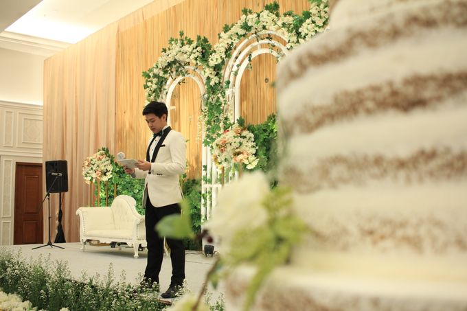 MC Wedding Menara Mandiri Jakarta - Anthony Stevven by IKK Wedding Planner - 004