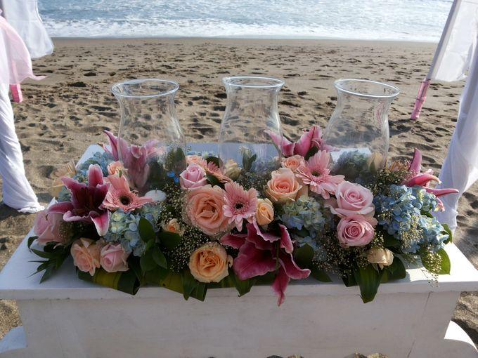 Beach Wedding Ceremony by Bali Wedding Assistant - 003