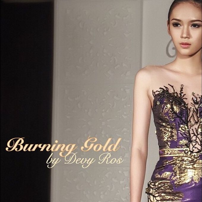 Burning Gold by Devy Ross Couture  - 006