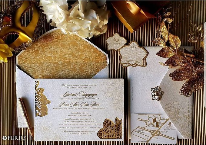 'The White Gatsby' Invitation by PurityCard - 001