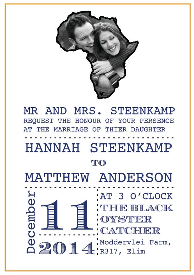 African Love by Paper and Hearts Stationery - 002