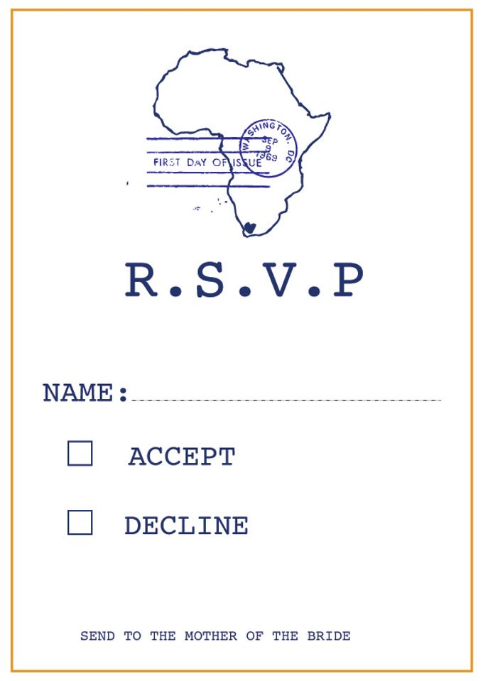 African Love by Paper and Hearts Stationery - 003