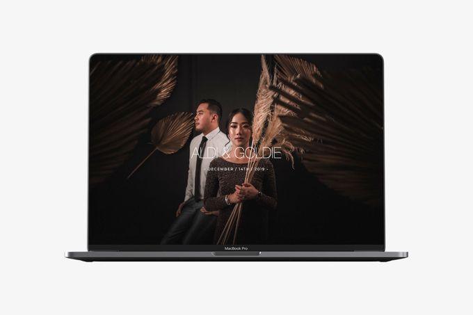 WEDDING WEBSITE - ALDI & GOLDIE by Our Days & Co - Wedding Website Design - 002