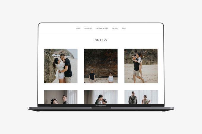 WEDDING WEBSITE - ALDI & GOLDIE by Our Days & Co - Wedding Website Design - 004