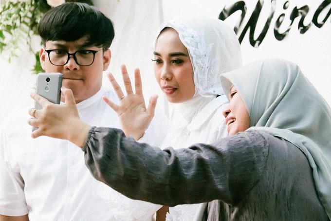 The Wedding of Alvina & Wira (Resepsi) by Agah Harsa Photo - 027