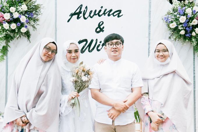 The Wedding of Alvina & Wira (Resepsi) by Agah Harsa Photo - 035