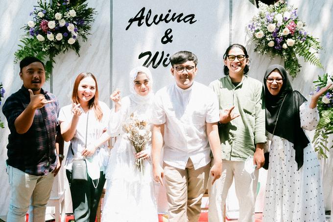 The Wedding of Alvina & Wira (Resepsi) by Agah Harsa Photo - 037