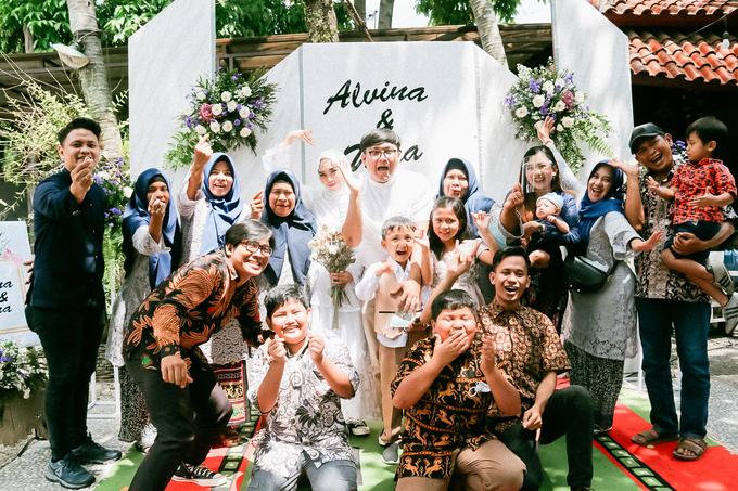 The Wedding of Alvina & Wira (Resepsi) by Agah Harsa Photo - 044