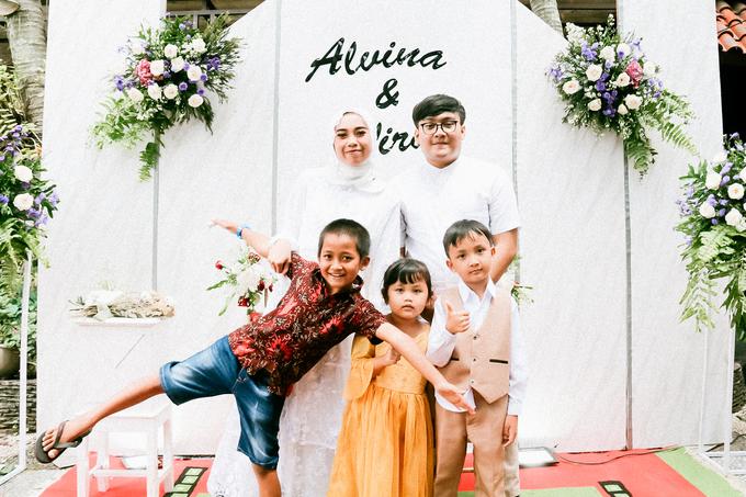 The Wedding of Alvina & Wira (Resepsi) by Agah Harsa Photo - 045