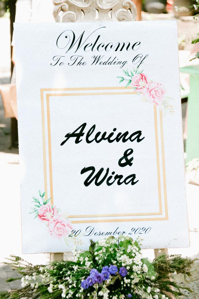 The Wedding of Alvina & Wira (Resepsi) by Agah Harsa Photo - 046