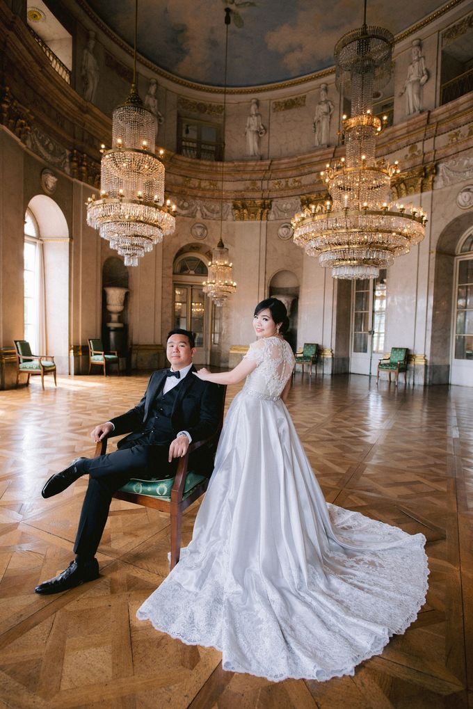 Prewedding Europe Anita Sebastian  Ludwigsburg Castle by Rosemerry Pictures - 001
