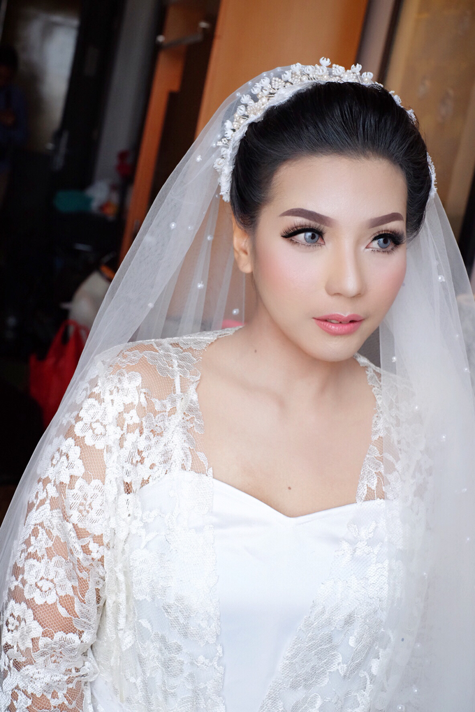 Bride Mrs. mei by Agnes Yosi Make Up Artist - 002