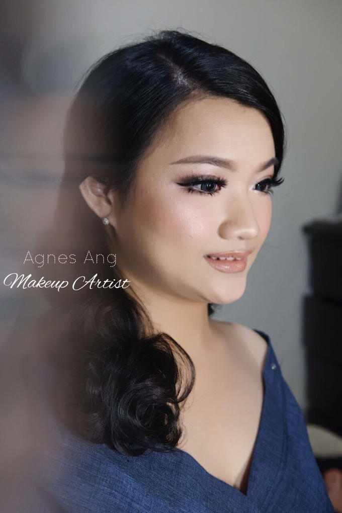 Test makeup for bride to be  by AgnesAng Makeup - 002