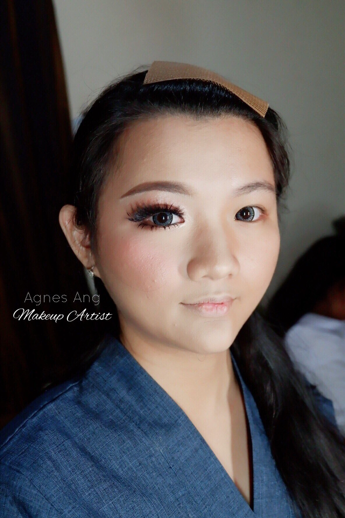 Test makeup for bride to be  by AgnesAng Makeup - 005