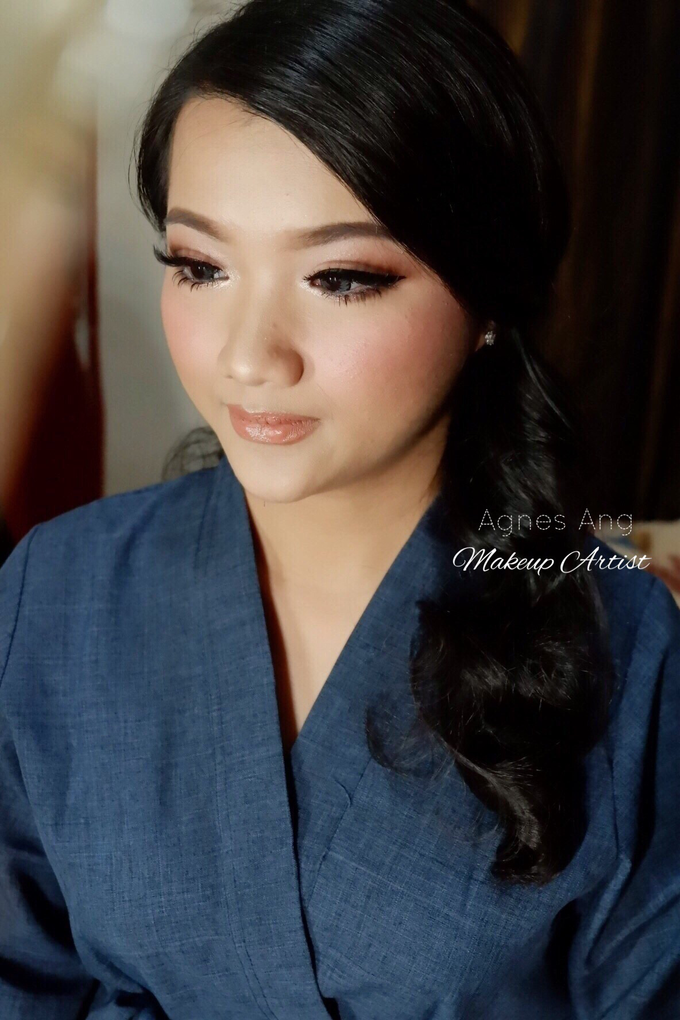 Test makeup for bride to be  by AgnesAng Makeup - 003