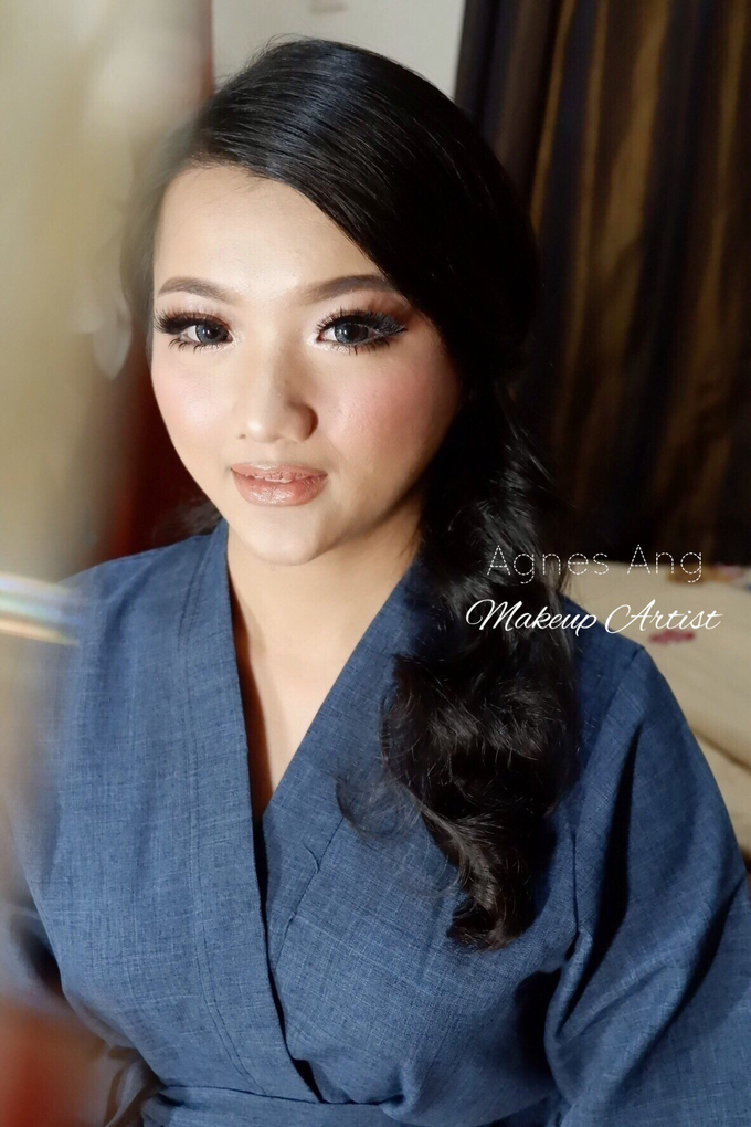 Test makeup for bride to be  by AgnesAng Makeup - 004