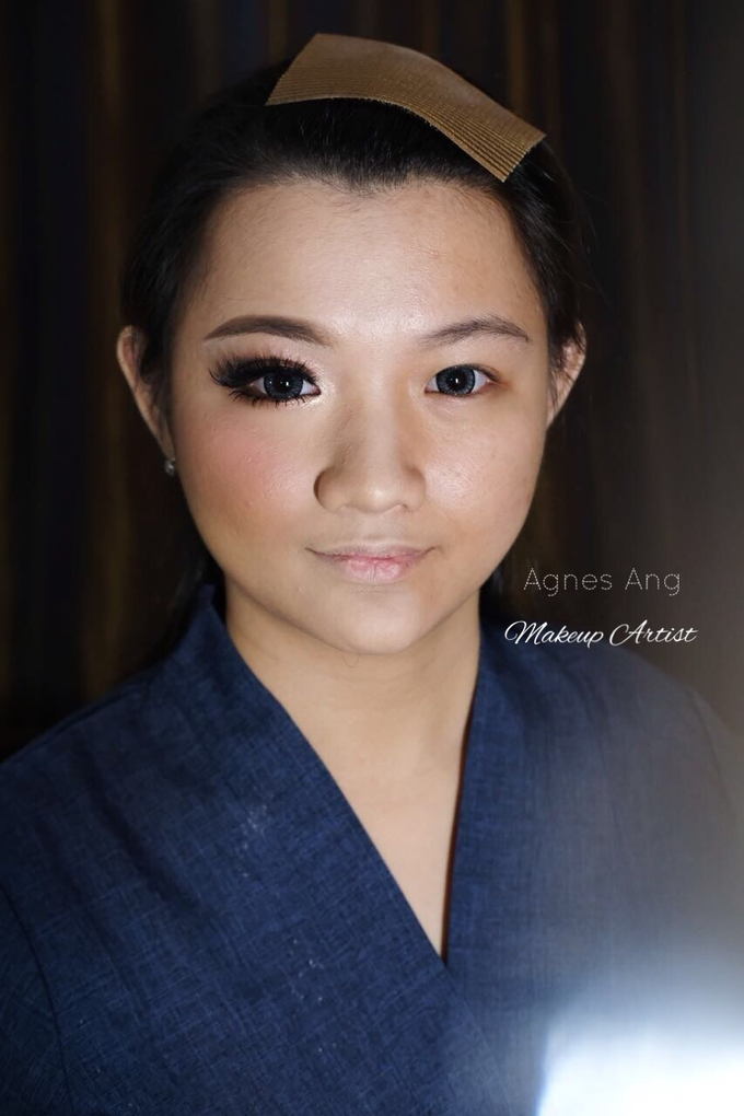 Test makeup for bride to be  by AgnesAng Makeup - 006