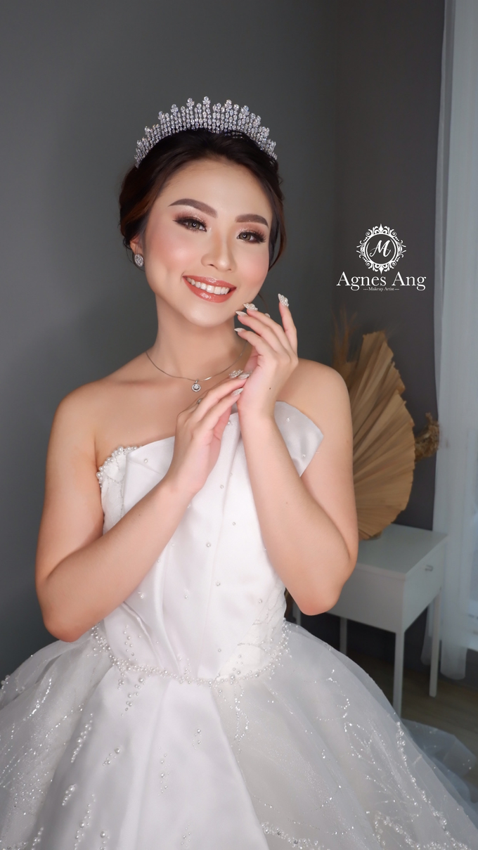 Wedding Makeup (Bride) by AgnesAng Makeup - 005