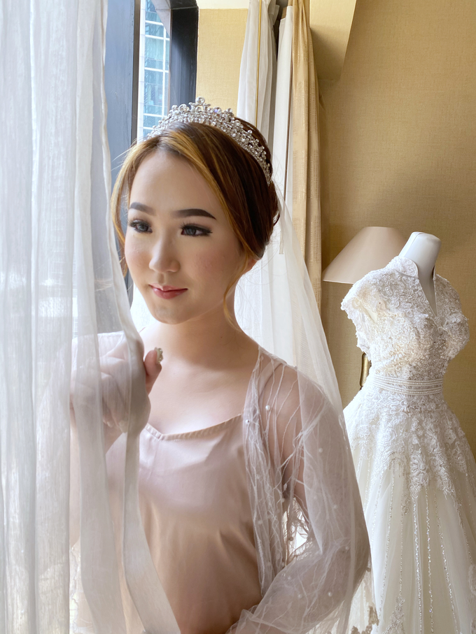 Wedding Makeup - Bride Ai Ren  by AgnesAng Makeup - 004