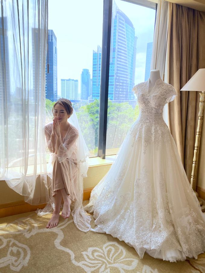 Wedding Makeup - Bride Ai Ren  by AgnesAng Makeup - 006
