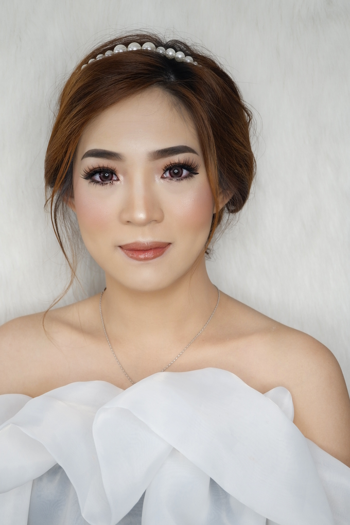 Test makeup for Bride To Be Ms. Vera by AgnesAng Makeup - 004