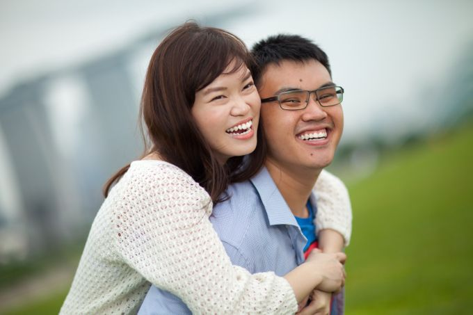 Couple Shoot At Marina Barrage by Gyver Chang Photography - 002