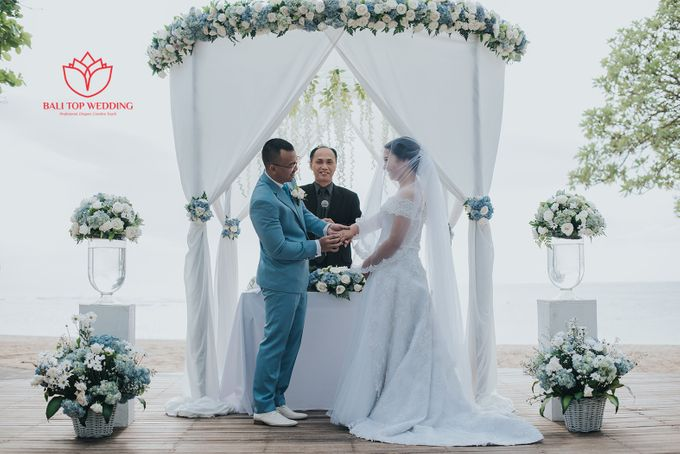 Wonderful Beach Wedding by Bali Top Wedding - 006