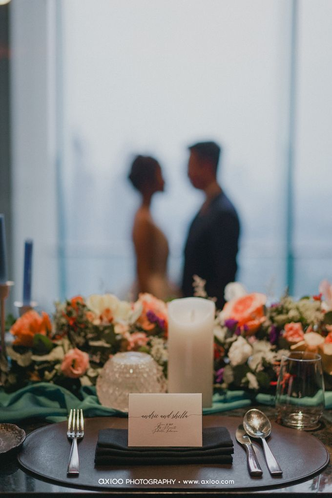 Andrie & Shella by One Heart Wedding - 009