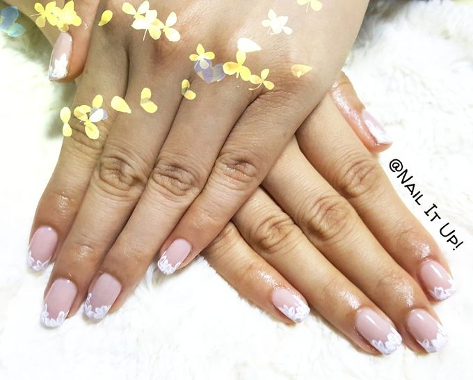 Wedding Nails Romantic Laxe By Nail It Up Bridestory Com