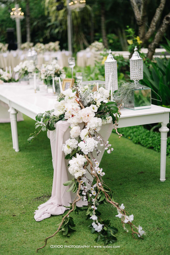 White elegance by AiLuoSi Wedding & Event Design Studio - 003