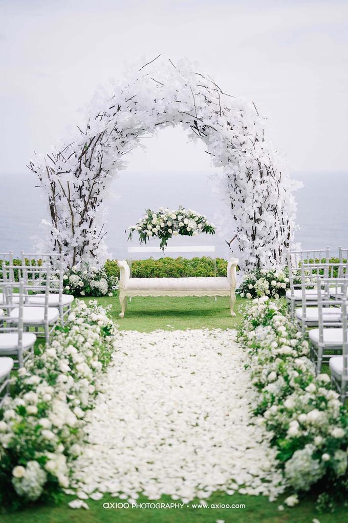 White elegance by AiLuoSi Wedding & Event Design Studio - 002