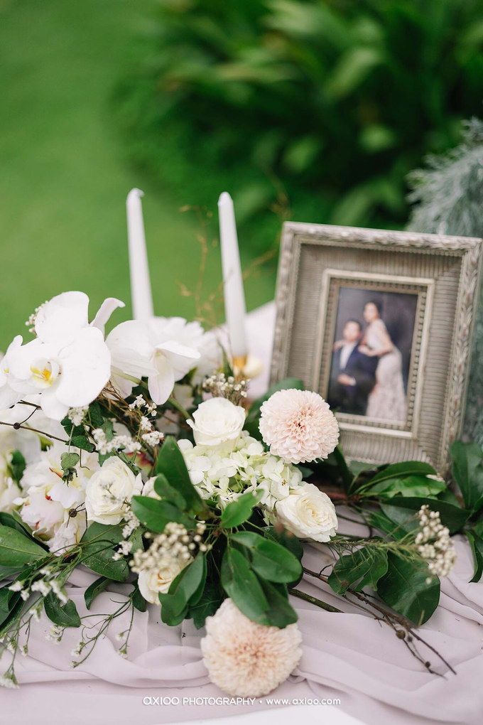 White elegance by AiLuoSi Wedding & Event Design Studio - 004