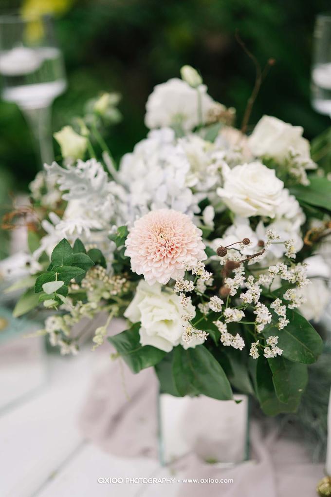 White elegance by AiLuoSi Wedding & Event Design Studio - 005