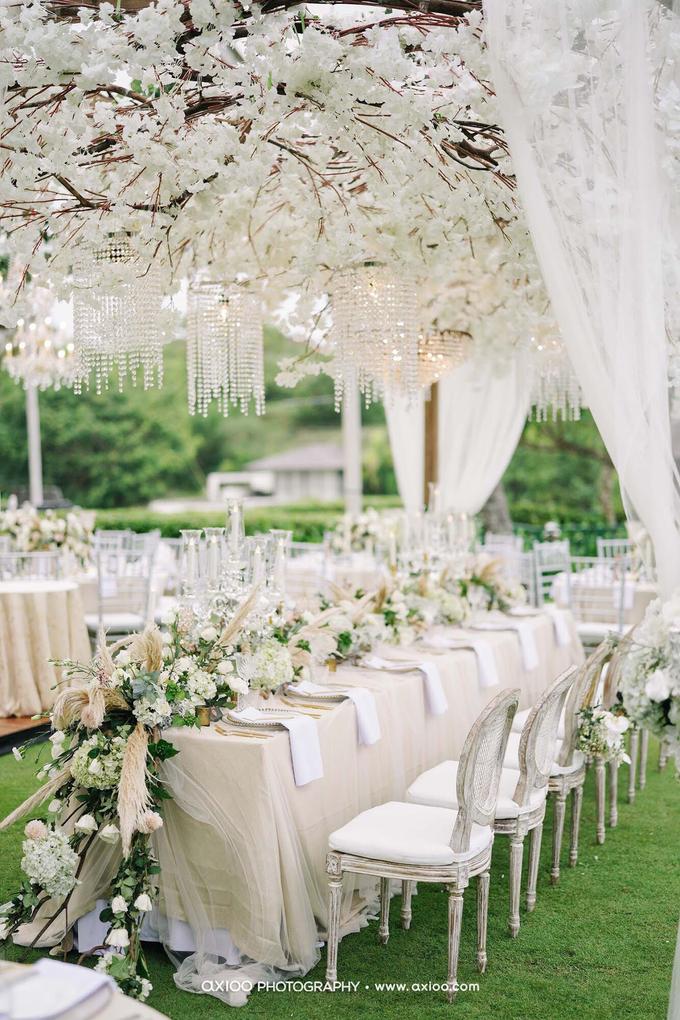White elegance by AiLuoSi Wedding & Event Design Studio - 006