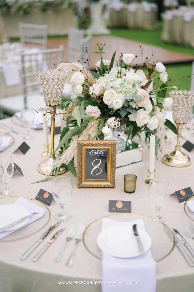 White elegance by AiLuoSi Wedding & Event Design Studio - 007