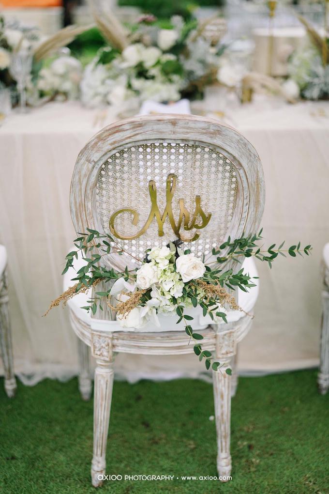 White elegance by AiLuoSi Wedding & Event Design Studio - 008