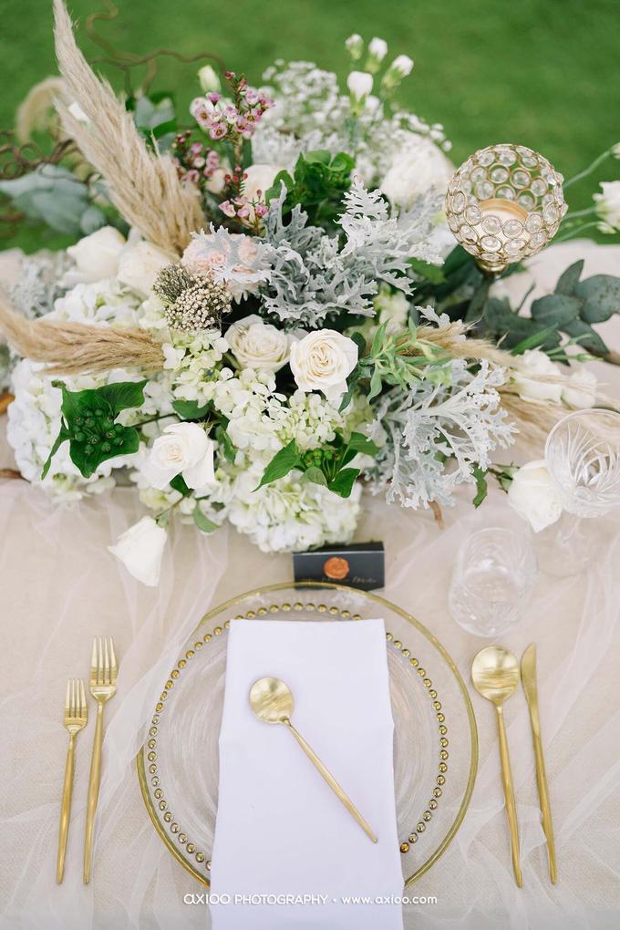 White elegance by AiLuoSi Wedding & Event Design Studio - 009