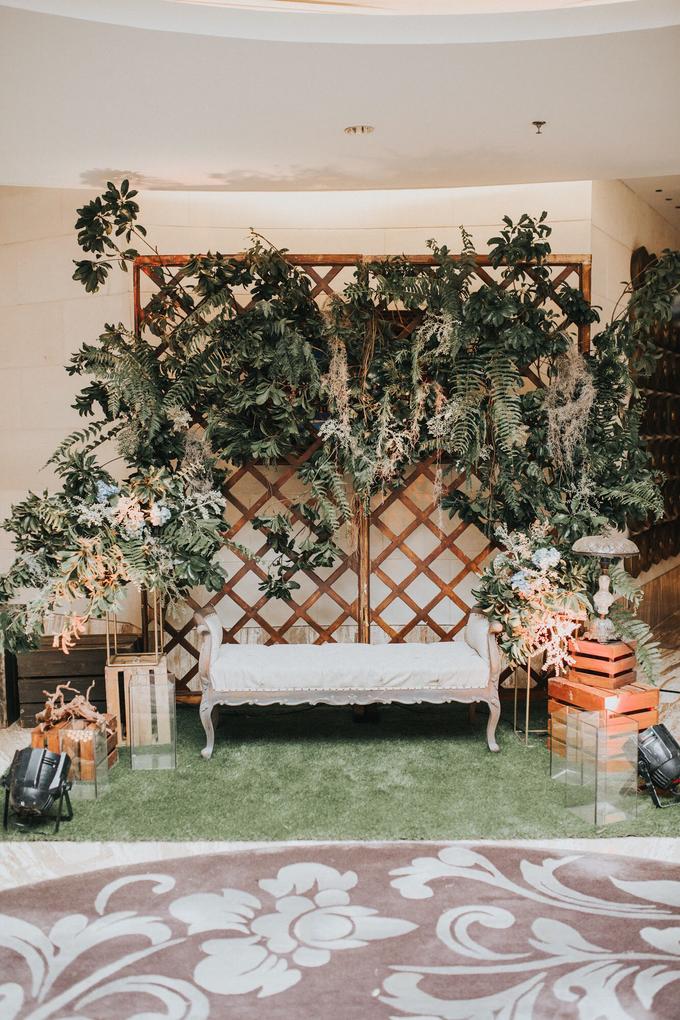 Greenery and Rainforest theme by AiLuoSi Wedding & Event Design Studio - 004