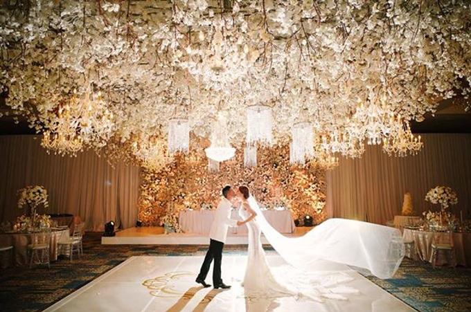 White fairy tale by AiLuoSi Wedding & Event Design Studio - 005