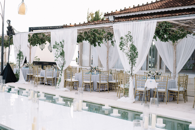 Dusty blue natural  by AiLuoSi Wedding & Event Design Studio - 002