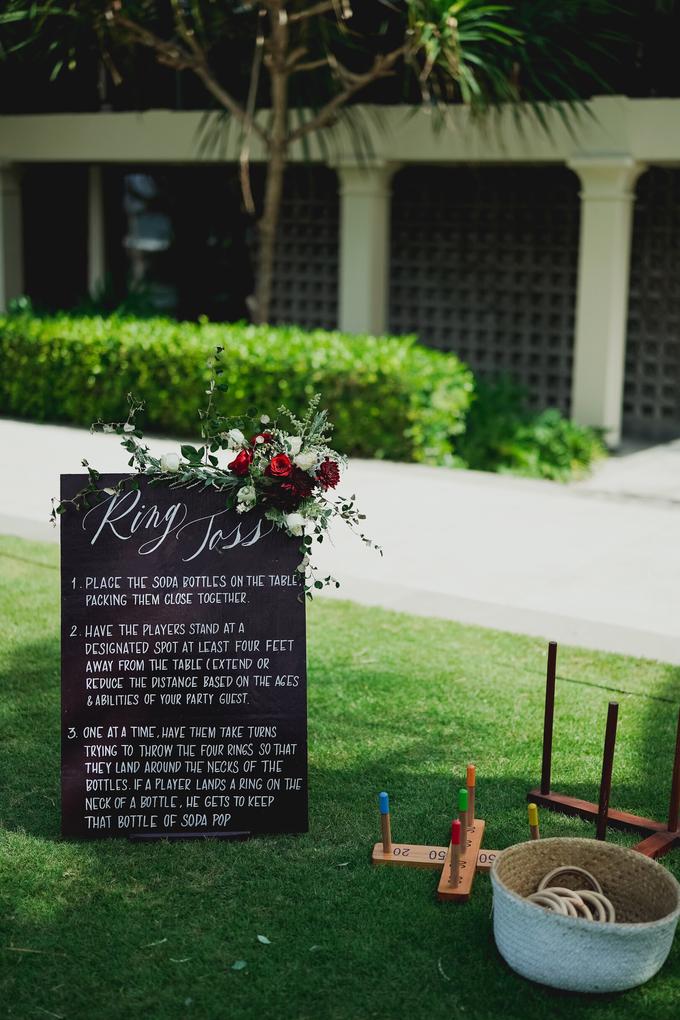 Simple - boho - rustic by Bali Wedding Paradise - 005