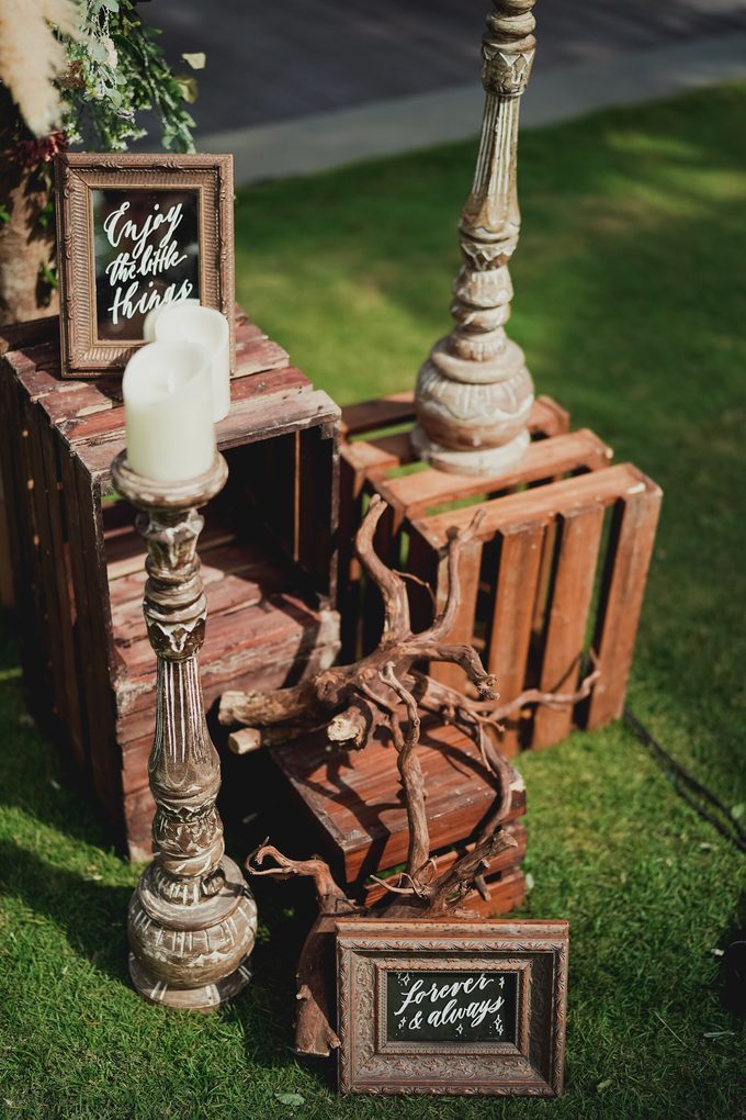 Simple - boho - rustic by AiLuoSi Wedding & Event Design Studio - 003
