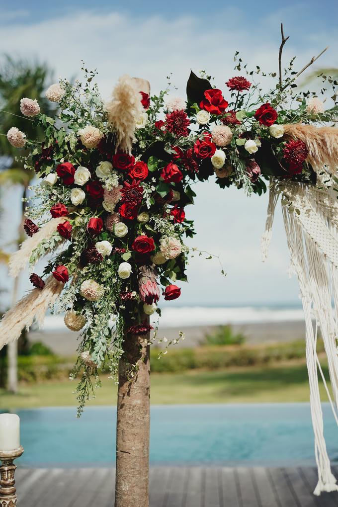 Simple - boho - rustic by Bali Wedding Paradise - 009
